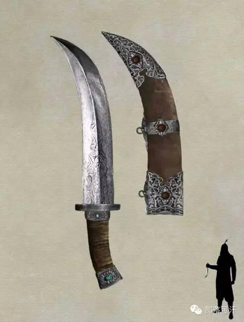 【蒙古战刀】设计师还原古代蒙古战刀兵器图集 第3张 【蒙古战刀】设计师还原古代蒙古战刀兵器图集 蒙古工艺
