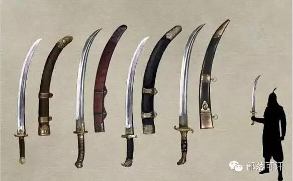 【蒙古战刀】设计师还原古代蒙古战刀兵器图集 第9张 【蒙古战刀】设计师还原古代蒙古战刀兵器图集 蒙古工艺
