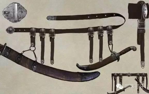 【蒙古战刀】设计师还原古代蒙古战刀兵器图集 第21张 【蒙古战刀】设计师还原古代蒙古战刀兵器图集 蒙古工艺