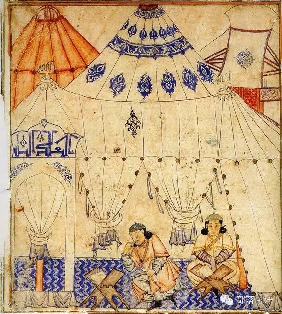 蒙兀尔时代的细密画—蒙古画 第5张 蒙兀尔时代的细密画—蒙古画 蒙古画廊