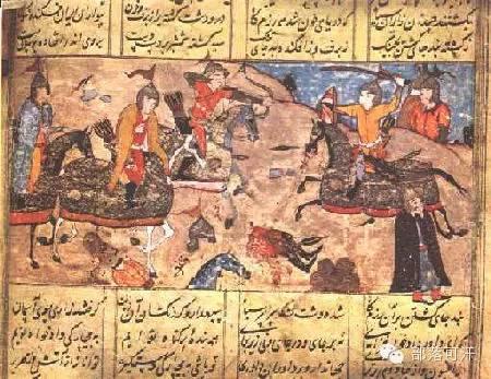 蒙兀尔时代的细密画—蒙古画 第4张 蒙兀尔时代的细密画—蒙古画 蒙古画廊
