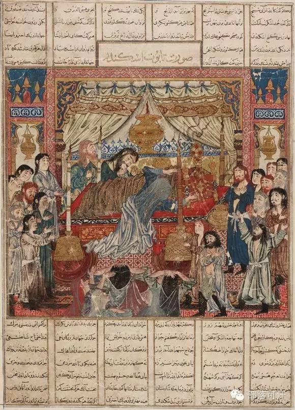 蒙兀尔时代的细密画—蒙古画 第7张 蒙兀尔时代的细密画—蒙古画 蒙古画廊