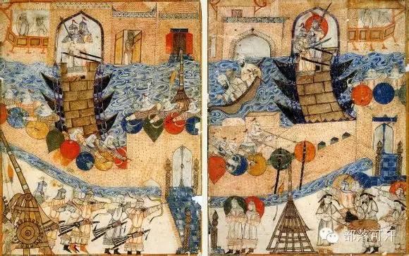 蒙兀尔时代的细密画—蒙古画 第12张 蒙兀尔时代的细密画—蒙古画 蒙古画廊