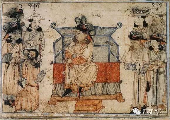 蒙兀尔时代的细密画—蒙古画 第15张 蒙兀尔时代的细密画—蒙古画 蒙古画廊