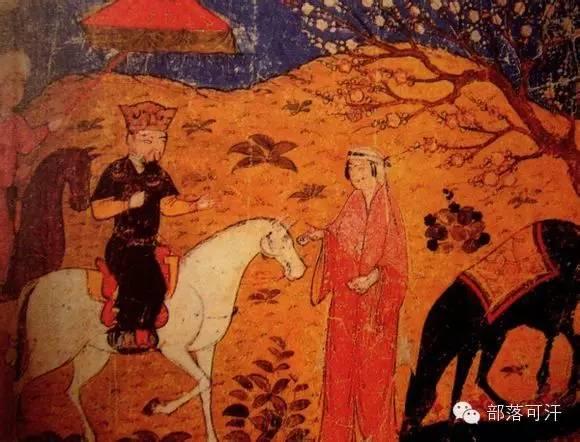 蒙兀尔时代的细密画—蒙古画 第13张 蒙兀尔时代的细密画—蒙古画 蒙古画廊