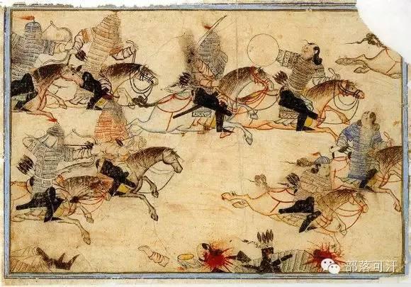 蒙兀尔时代的细密画—蒙古画 第18张 蒙兀尔时代的细密画—蒙古画 蒙古画廊
