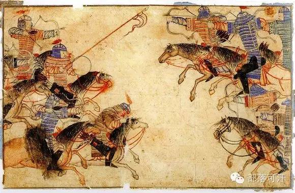 蒙兀尔时代的细密画—蒙古画 第37张 蒙兀尔时代的细密画—蒙古画 蒙古画廊