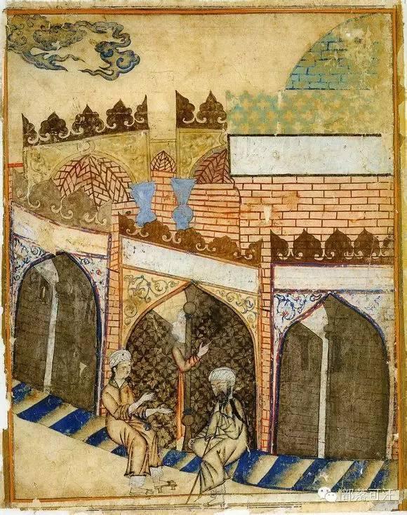 蒙兀尔时代的细密画—蒙古画 第39张 蒙兀尔时代的细密画—蒙古画 蒙古画廊
