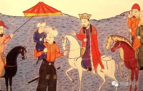 蒙兀尔时代的细密画—蒙古画 第42张 蒙兀尔时代的细密画—蒙古画 蒙古画廊