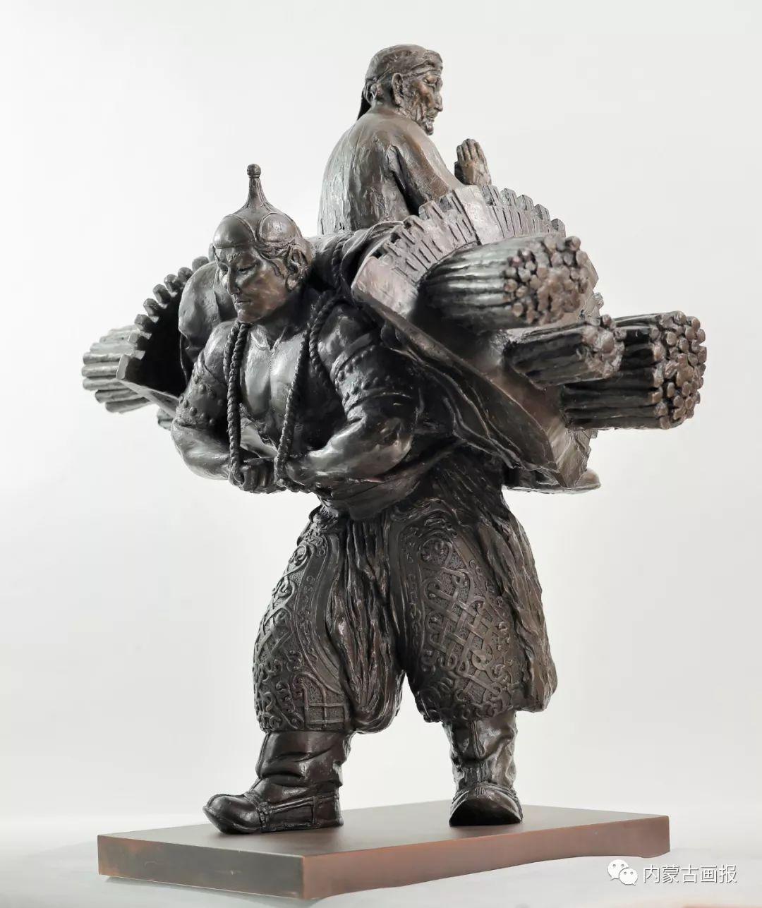 蒙古族雕塑艺术家铁木老师作品欣赏 ... 第10张 蒙古族雕塑艺术家铁木老师作品欣赏 ... 蒙古画廊