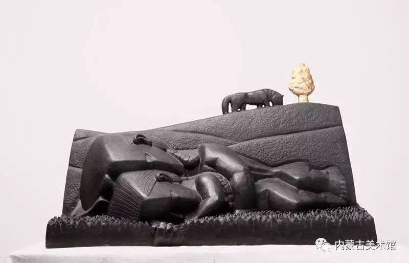 情缘草原 相由心生 ——萨其日拉图雕塑作品展在内蒙古美术馆举办 第23张 情缘草原 相由心生 ——萨其日拉图雕塑作品展在内蒙古美术馆举办 蒙古画廊