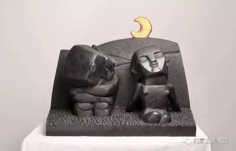 情缘草原 相由心生 ——萨其日拉图雕塑作品展在内蒙古美术馆举办 第27张 情缘草原 相由心生 ——萨其日拉图雕塑作品展在内蒙古美术馆举办 蒙古画廊