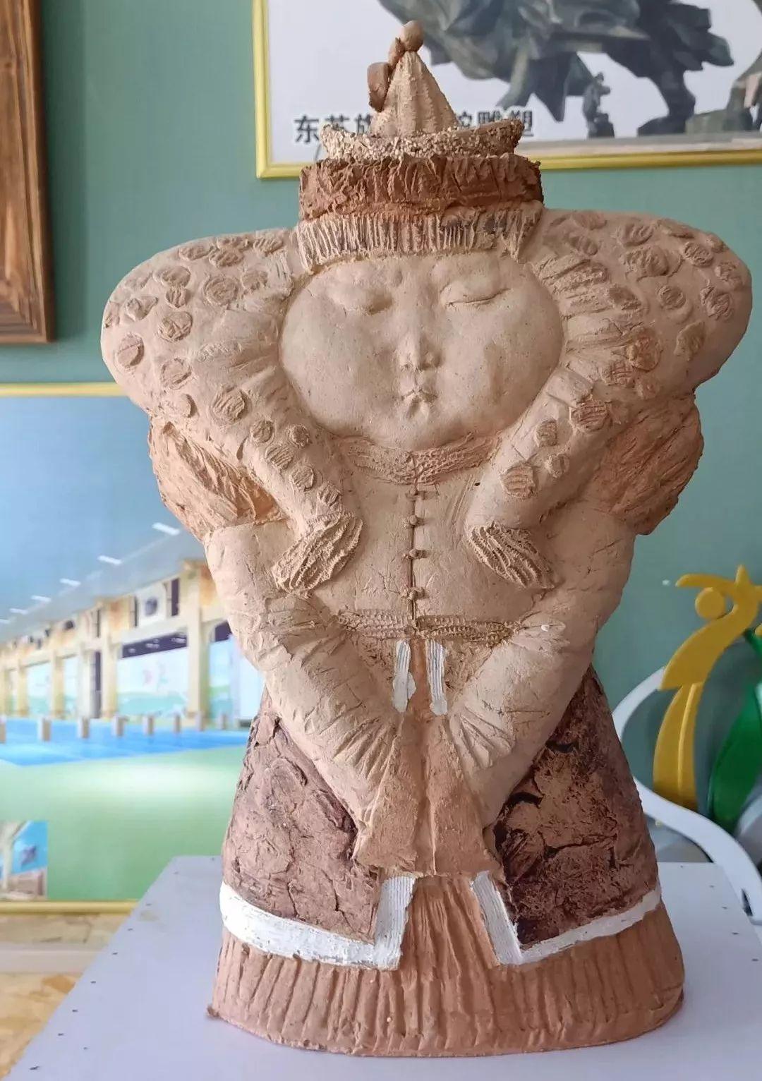 【头条】蒙古族小伙用雕塑艺术创作出个性作品 第13张 【头条】蒙古族小伙用雕塑艺术创作出个性作品 蒙古画廊