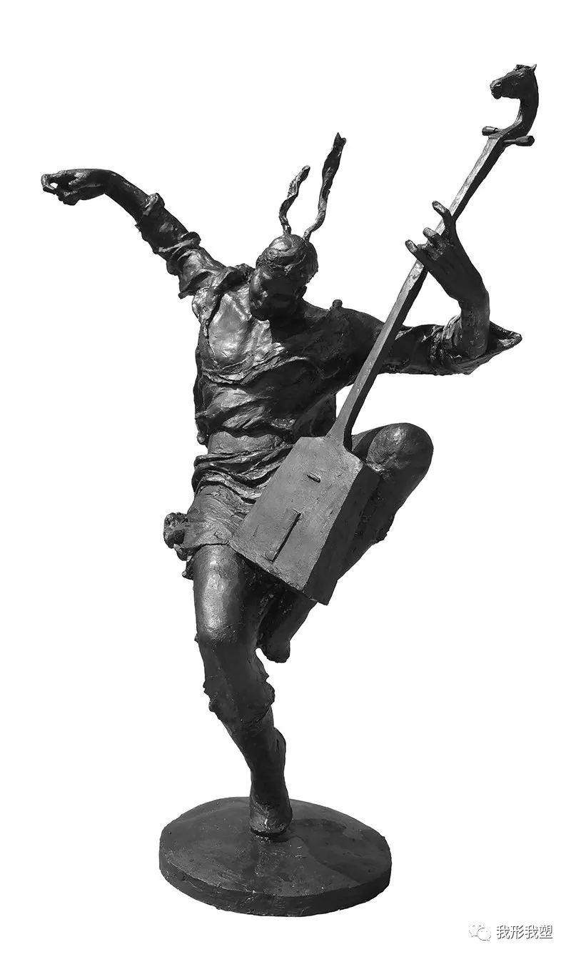 【雕坛新秀】陈栓柱:蒙古高原上的雕塑赞歌 第15张 【雕坛新秀】陈栓柱:蒙古高原上的雕塑赞歌 蒙古画廊