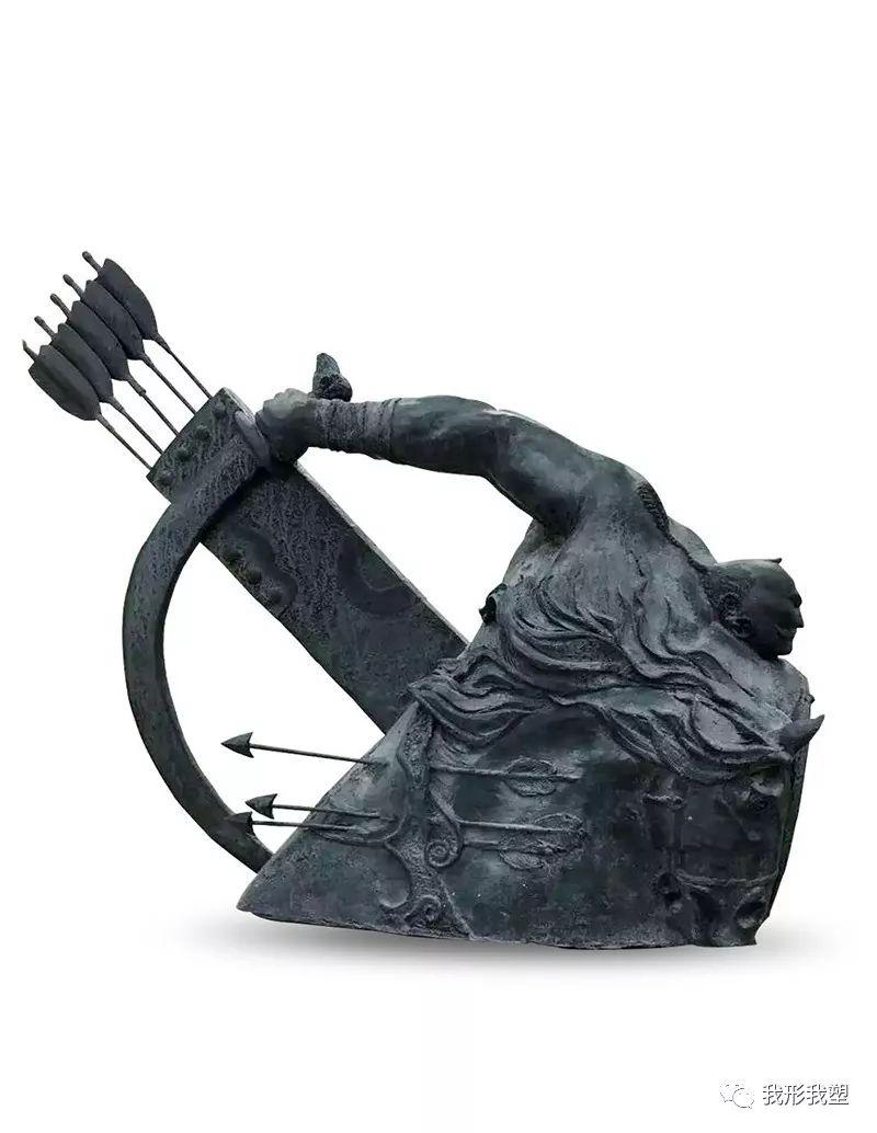 【雕坛新秀】陈栓柱:蒙古高原上的雕塑赞歌 第19张 【雕坛新秀】陈栓柱:蒙古高原上的雕塑赞歌 蒙古画廊