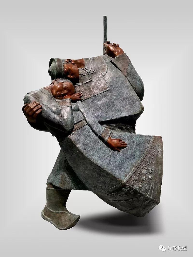 【雕坛新秀】陈栓柱:蒙古高原上的雕塑赞歌 第29张 【雕坛新秀】陈栓柱:蒙古高原上的雕塑赞歌 蒙古画廊