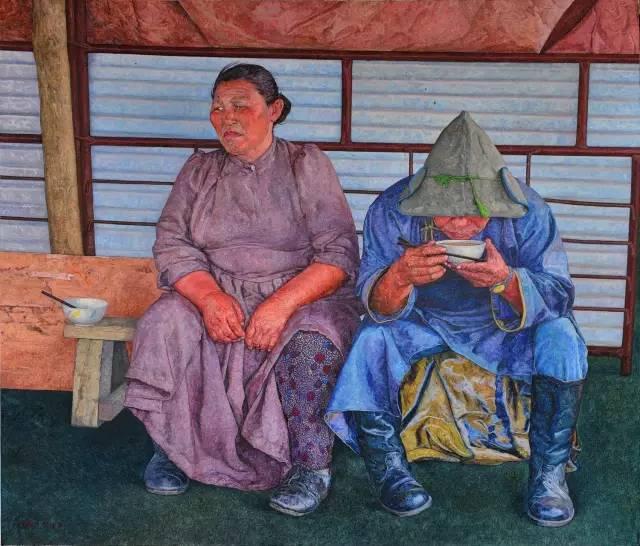 内蒙古画家王耀中——草原精神的颂扬者 第4张 内蒙古画家王耀中——草原精神的颂扬者 蒙古画廊