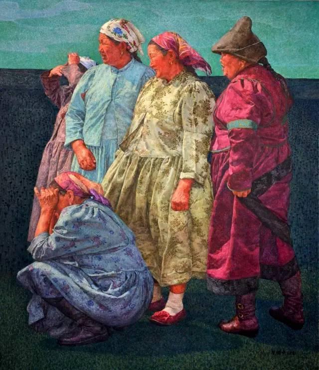 内蒙古画家王耀中——草原精神的颂扬者 第2张 内蒙古画家王耀中——草原精神的颂扬者 蒙古画廊