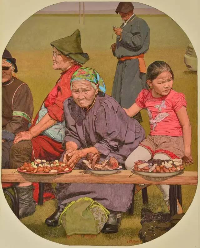 内蒙古画家王耀中——草原精神的颂扬者 第5张 内蒙古画家王耀中——草原精神的颂扬者 蒙古画廊