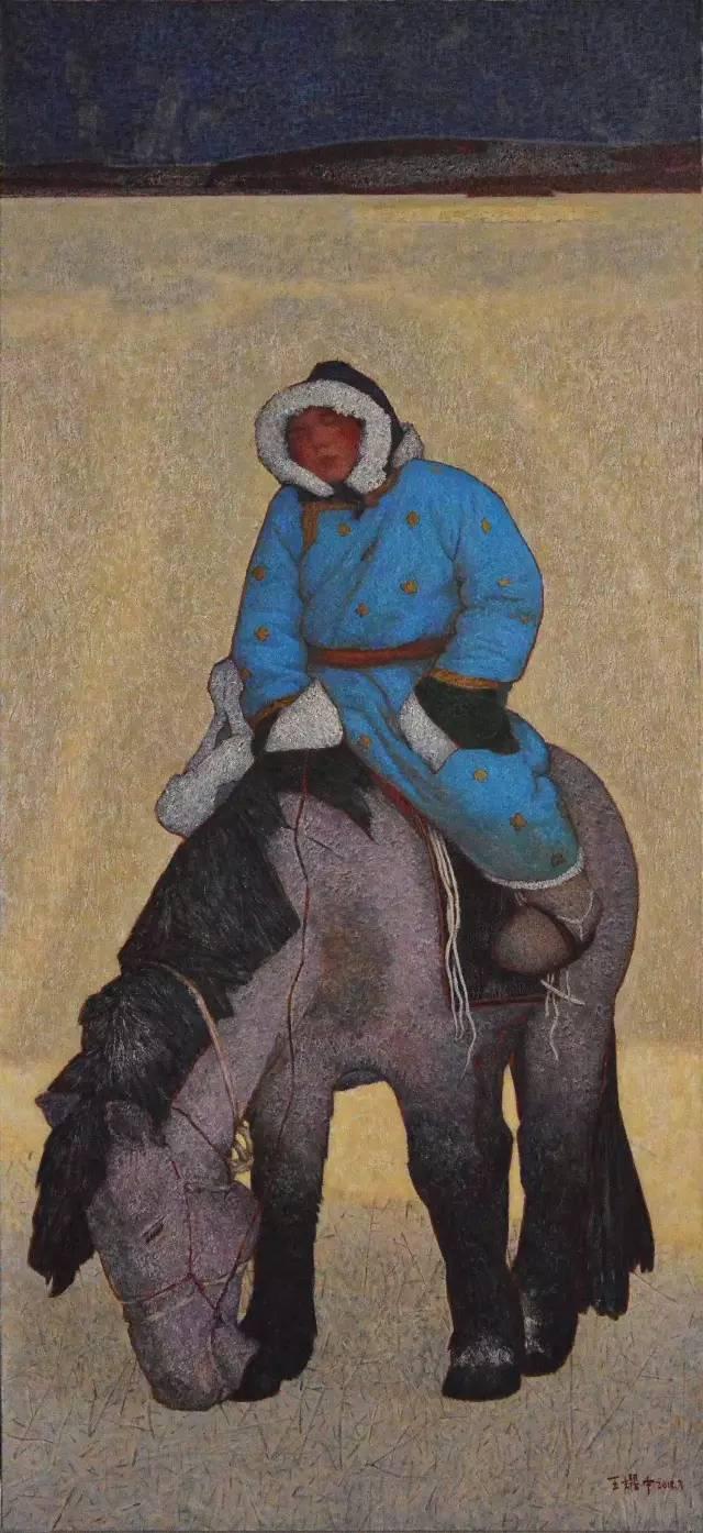 内蒙古画家王耀中——草原精神的颂扬者 第8张 内蒙古画家王耀中——草原精神的颂扬者 蒙古画廊