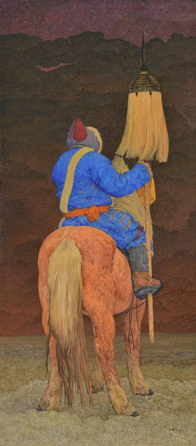 内蒙古画家王耀中——草原精神的颂扬者 第7张 内蒙古画家王耀中——草原精神的颂扬者 蒙古画廊