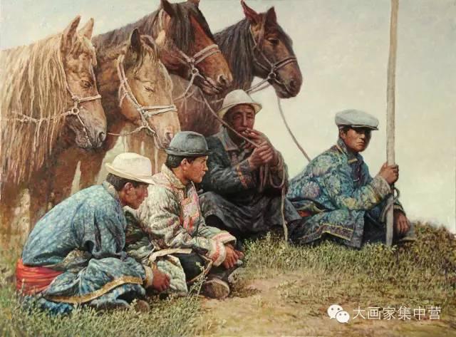 内蒙古画家--彭志信 第7张 内蒙古画家--彭志信 蒙古画廊