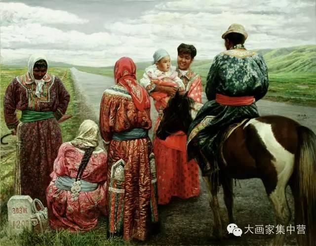 内蒙古画家--彭志信 第11张 内蒙古画家--彭志信 蒙古画廊