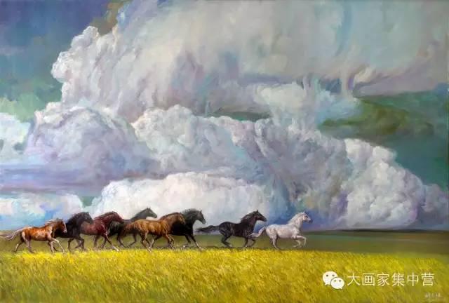 内蒙古画家--彭志信 第20张 内蒙古画家--彭志信 蒙古画廊