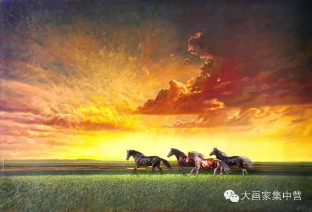 内蒙古画家--彭志信 第21张 内蒙古画家--彭志信 蒙古画廊