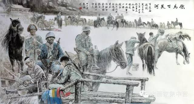内蒙古画家--彭志信 第42张 内蒙古画家--彭志信 蒙古画廊