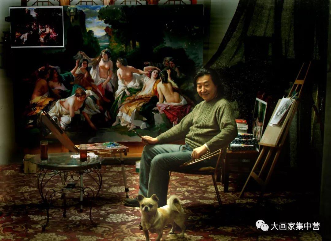 内蒙古画家--彭志信 第40张 内蒙古画家--彭志信 蒙古画廊