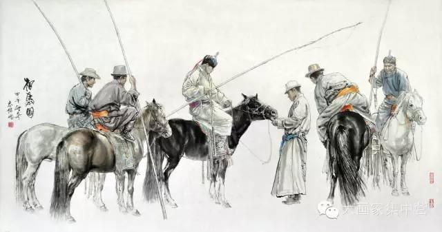 内蒙古画家--彭志信 第44张 内蒙古画家--彭志信 蒙古画廊
