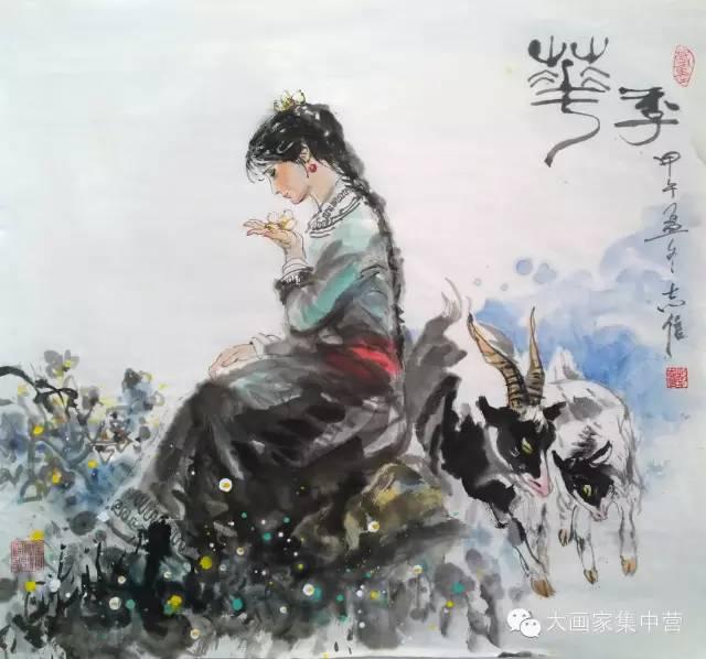内蒙古画家--彭志信 第52张 内蒙古画家--彭志信 蒙古画廊