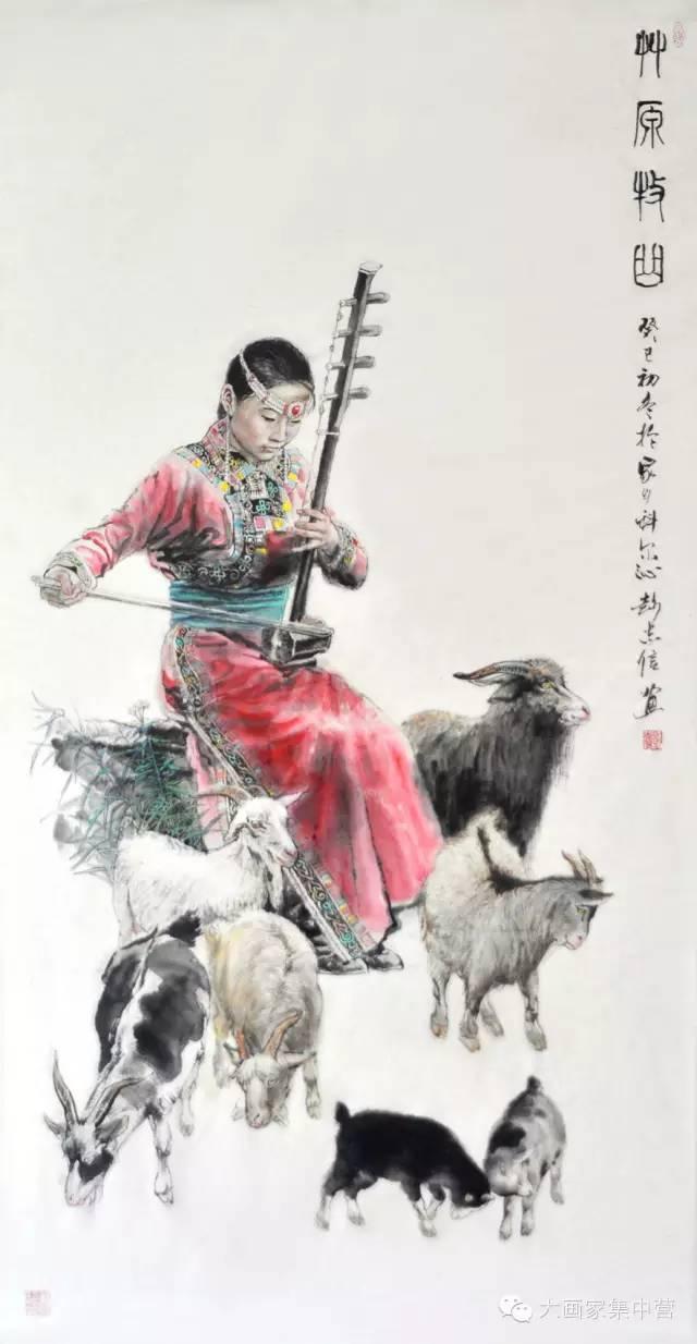 内蒙古画家--彭志信 第51张 内蒙古画家--彭志信 蒙古画廊