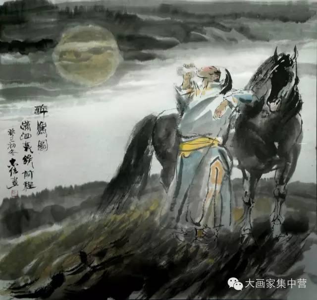 内蒙古画家--彭志信 第53张 内蒙古画家--彭志信 蒙古画廊
