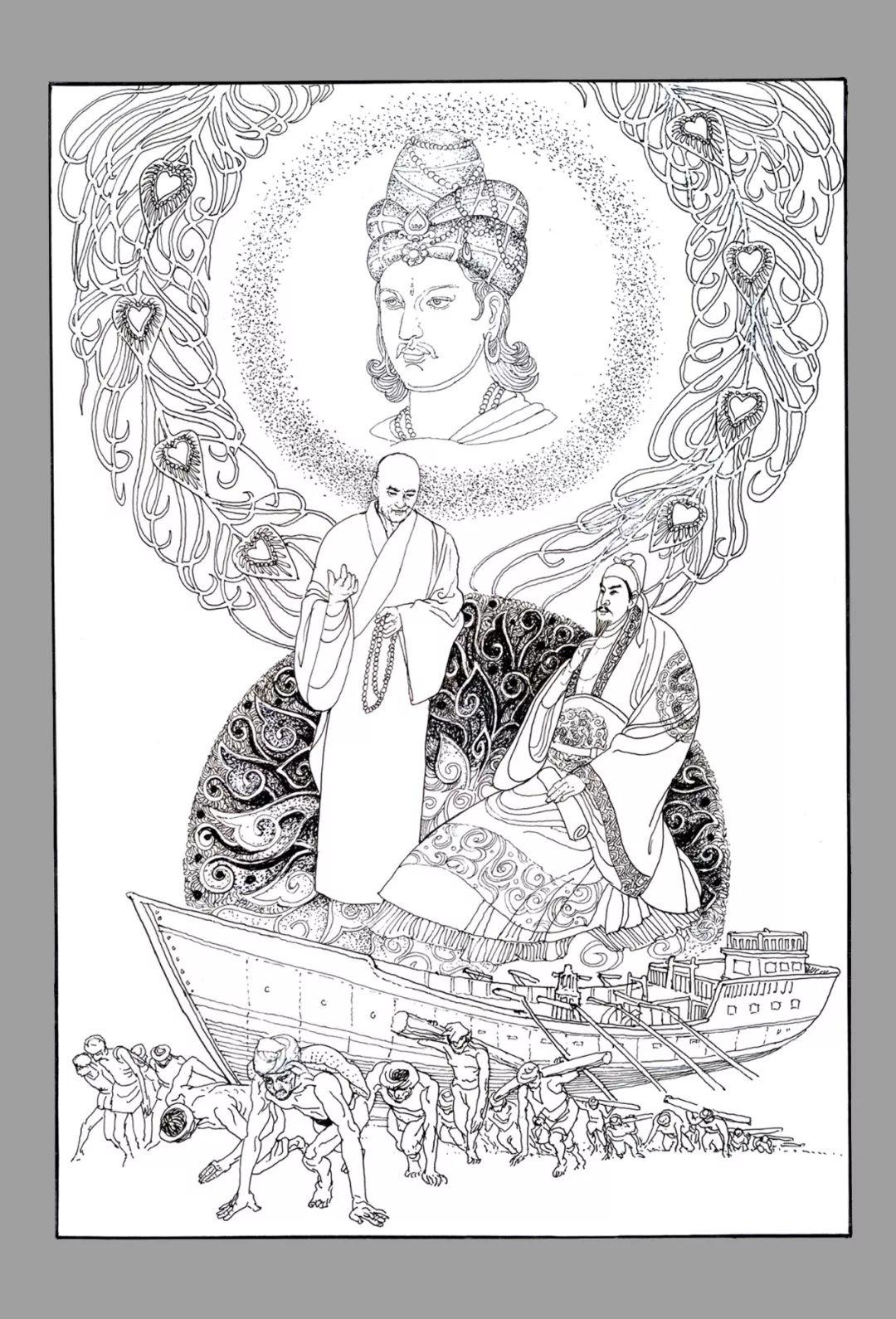 内蒙古画家--彭志信 第74张 内蒙古画家--彭志信 蒙古画廊