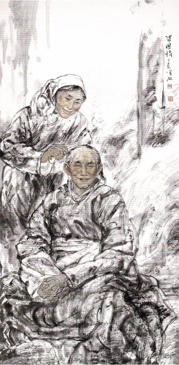 中外名人艺术 ▕  当代著名国画家▕ 鲍凤林 第11张