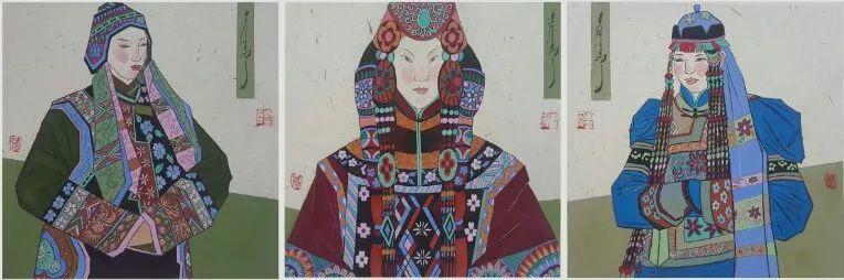 李金风国画作品欣赏 第3张 李金风国画作品欣赏 蒙古画廊
