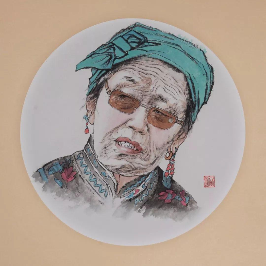 李金风国画作品欣赏 第12张 李金风国画作品欣赏 蒙古画廊