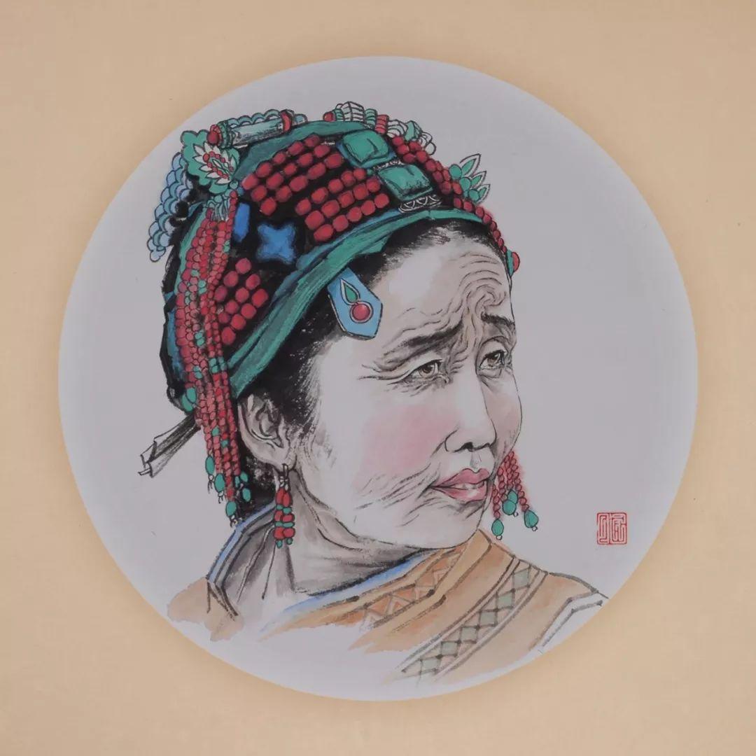 李金风国画作品欣赏 第10张 李金风国画作品欣赏 蒙古画廊