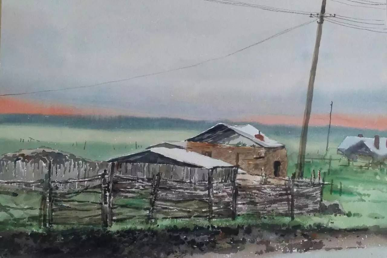 蒙古族青年画家白国君作品欣赏 第8张