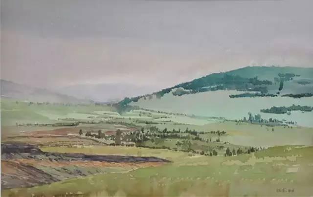 蒙古族青年画家白国君作品欣赏 第12张