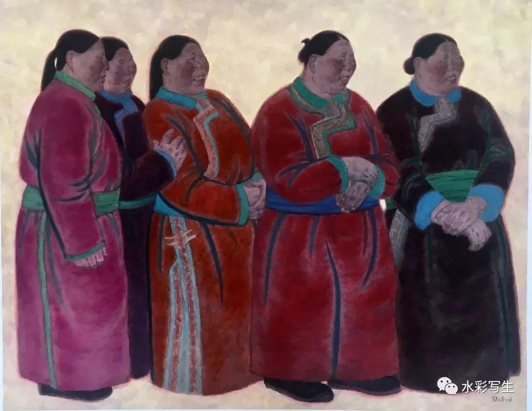 中国美术奖水彩金奖| 颉元芳 第3张
