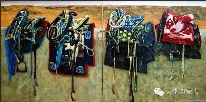 蒙古族青年画家柯西格巴图 第4张