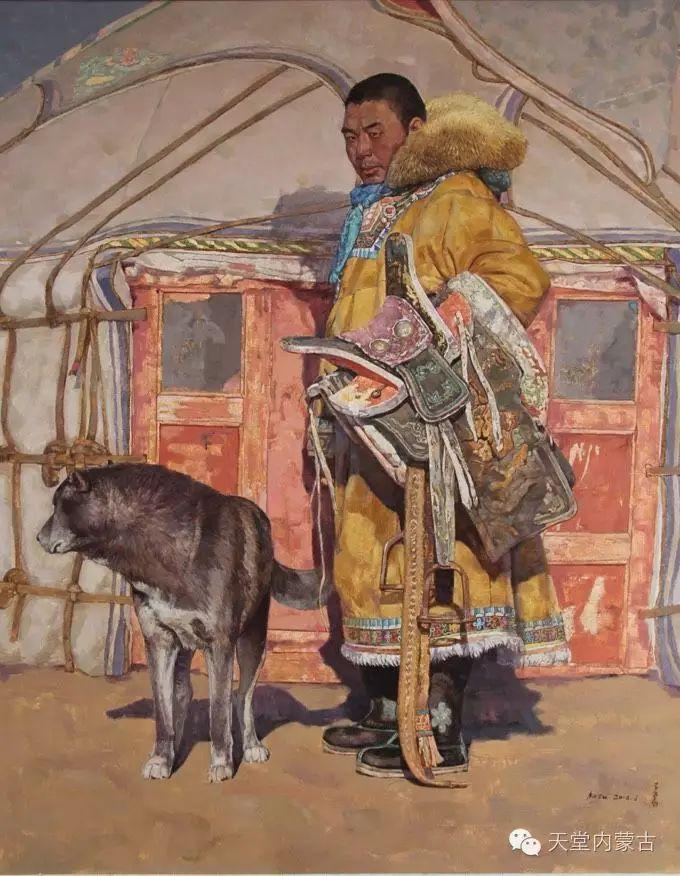 蒙古族青年画家柯西格巴图 第15张
