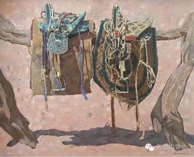 蒙古族青年画家柯西格巴图 第18张