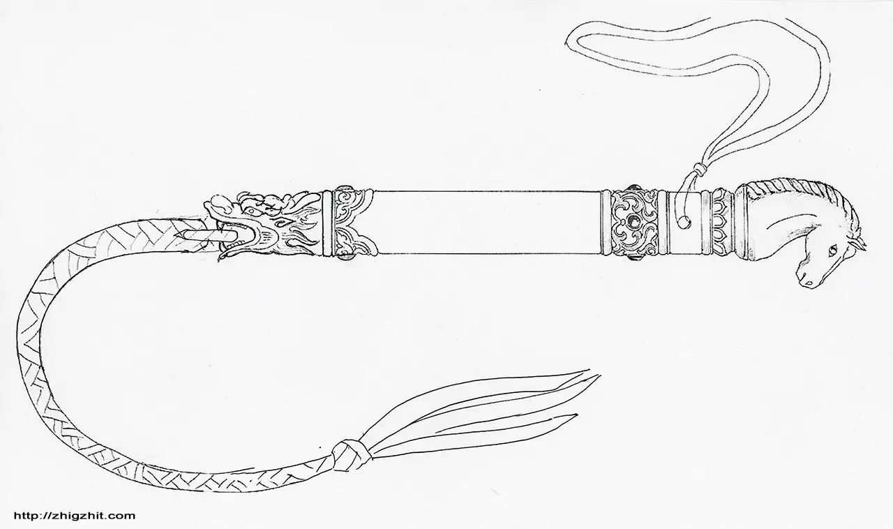 蒙古族制作马鞭的传统手艺 第4张
