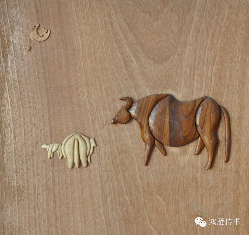 【蒙古人】乌拉特民间手工艺师达那巴拉木雕作品 第16张