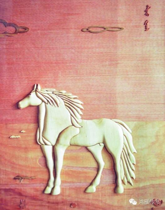 【蒙古人】乌拉特民间手工艺师达那巴拉木雕作品 第17张
