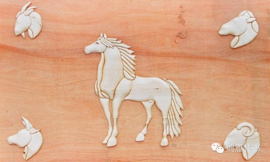 【蒙古人】乌拉特民间手工艺师达那巴拉木雕作品 第20张